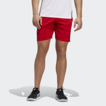 Adidas Férfi Short, Piros 4krft 3stripe+ woven 9-inch short, GC8426-L