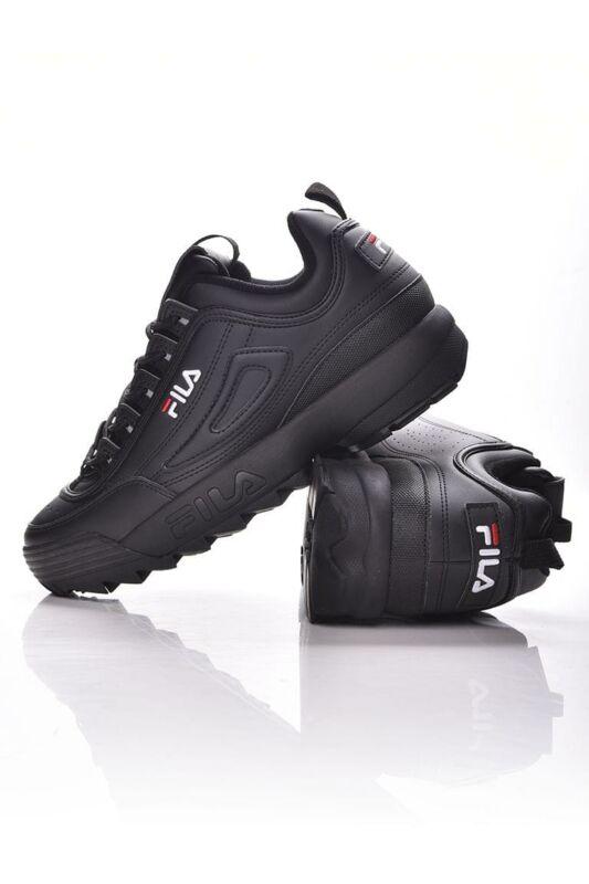 Fila Férfi Utcai cipő, fekete DISRUPTOR LOW, 1010262____012V