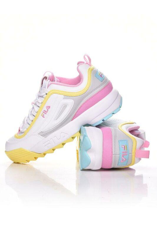 Fila Női Utcai cipő, fehér DISRUPTOR CB LOW WMN, 1010604____092X