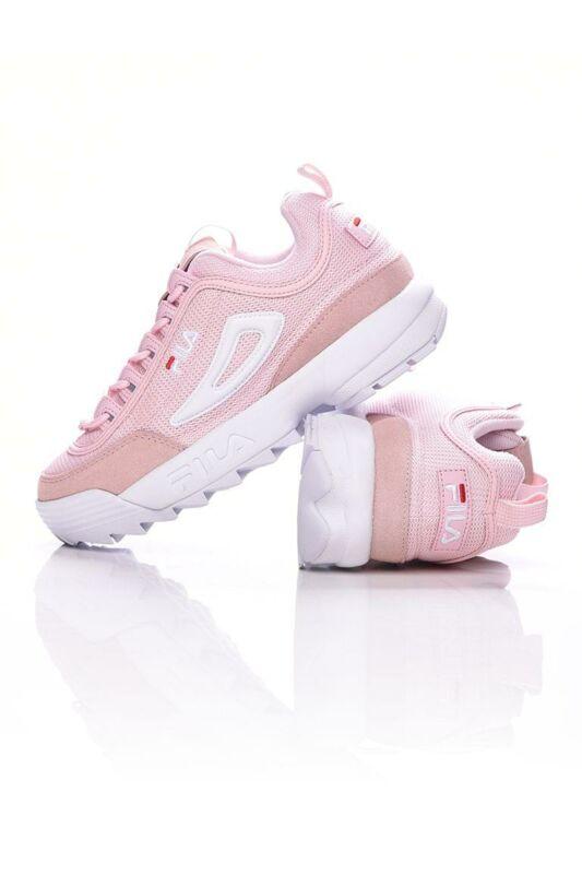Fila Női Utcai cipő, Rózsaszín DISRUPTOR MESH LOW WMN, 1010606____071D