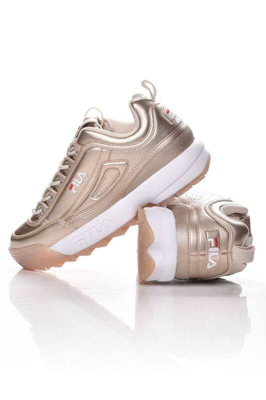 Fila Női Utcai cipő, arany Disruptor M low wmn, 1010747____080C