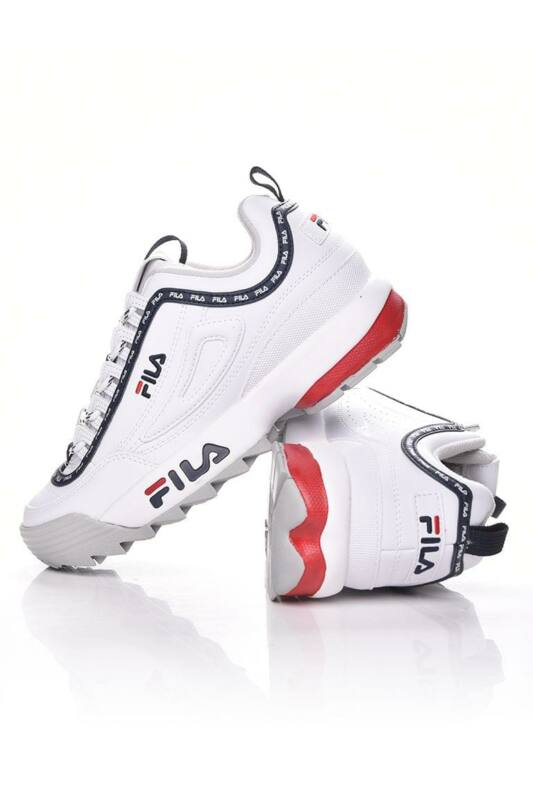 Fila Női Utcai cipő, fehér DISRUPTOR Logo LOW WMN, 1010748____01FG