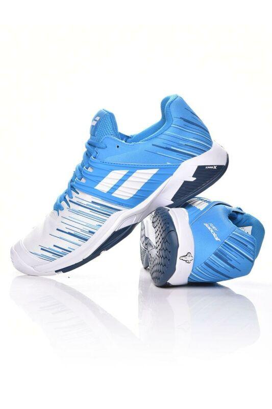 Babolat Férfi Tenisz cipő, Fehér Propulse Fury All Court M, 30S20208___1030