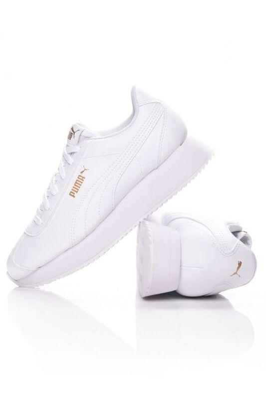 Puma Női Utcai cipő, fehér Turino Stacked, 371115_____0001