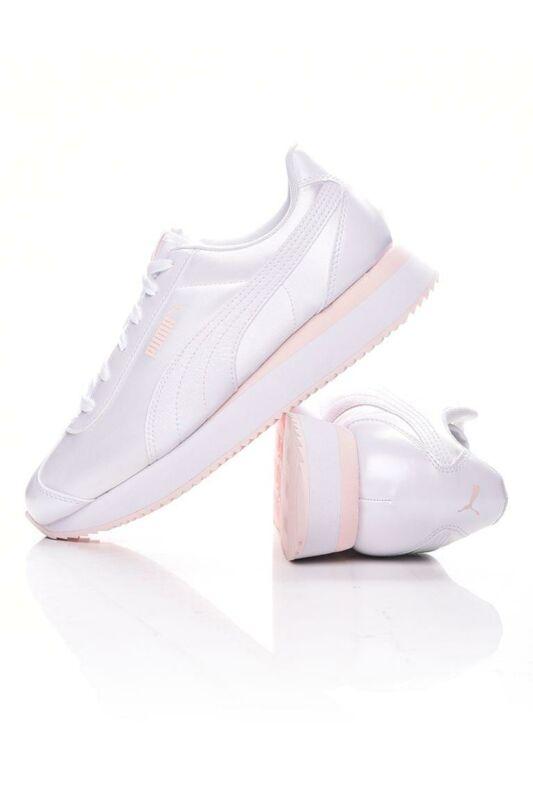 Puma Női Utcai cipő, fehér Turino Stacked Glitter, 371944_____0002