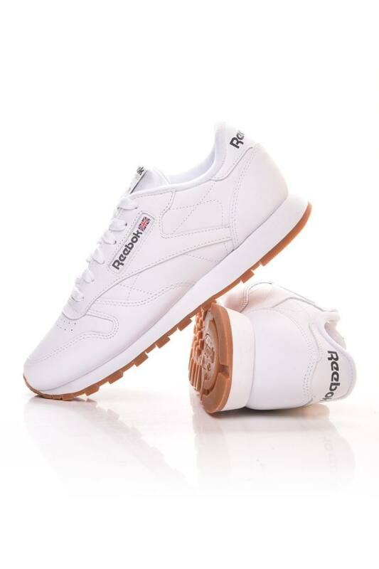 Reebok Unisex Utcai cipő, fehér CL LTHR, 49799