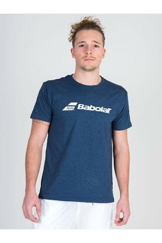 Babolat Férfi Rövid ujjú T Shirt, Kék Exercise Babolat Tee Men, 4MP1441____4005