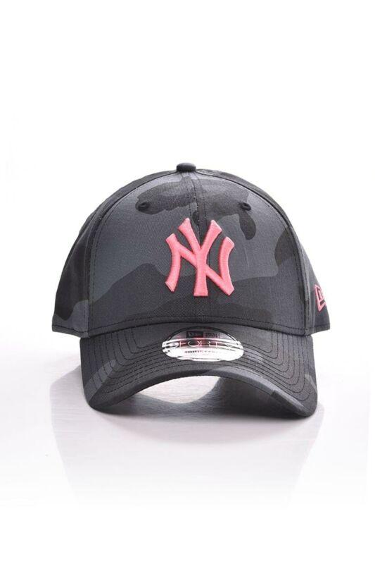 New Era Női Baseball sapka, Szürke ALL OVER CAMO 9FORTY NEW YORK YANKEES, 60112614