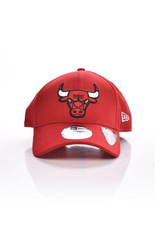New Era Unisex Baseball sapka, Piros DIAMOND ERA 9FORTY CHICAGO BULLS, 60112634