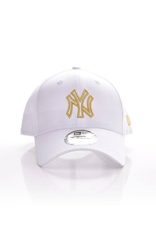 New Era Női Baseball sapka, Fehér METALLIC LOGO 9FORTY NEW YORK YANKEES, 60112673