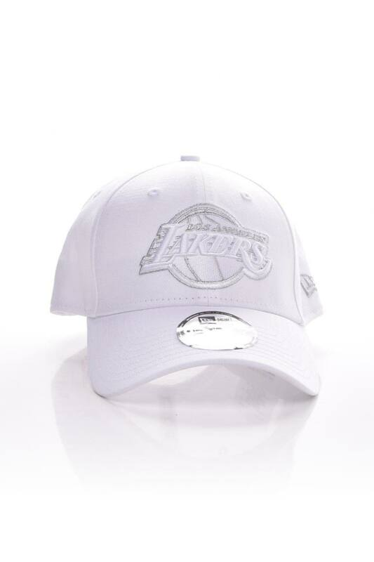 New Era Unisex Baseball sapka, Fehér METALLIC LOGO 9FORTY LA LAKERS, 60112675