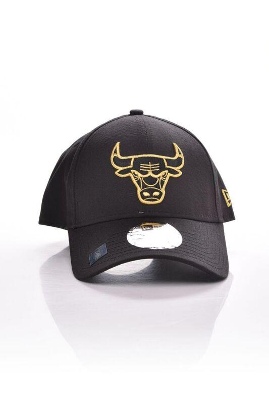 New Era Unisex Baseball sapka, Fekete METALLIC LOGO 9FORTY CHICAGO BULLS, 60112676