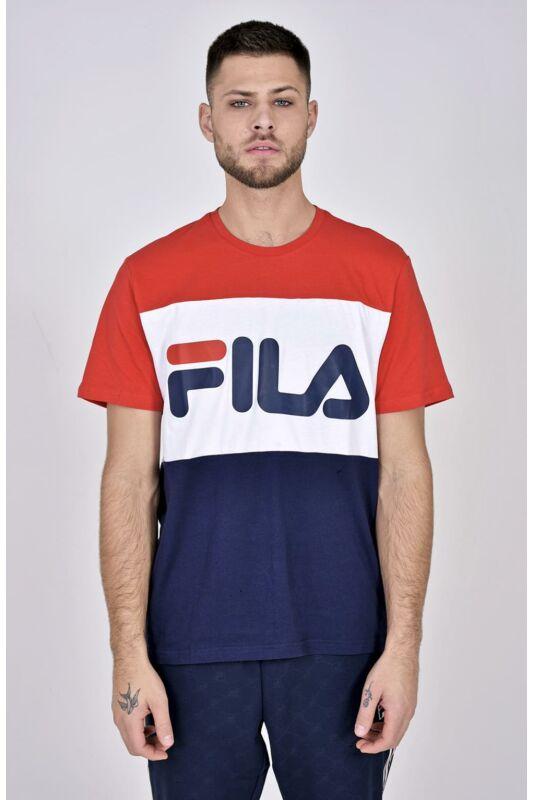 Fila Férfi Rövid ujjú T Shirt, Fekete MEN DAY tee, 681244_____0G06