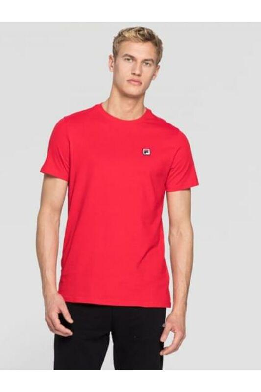 Fila Férfi Rövid ujjú T Shirt, Piros SEAMUS, 682393_____0006