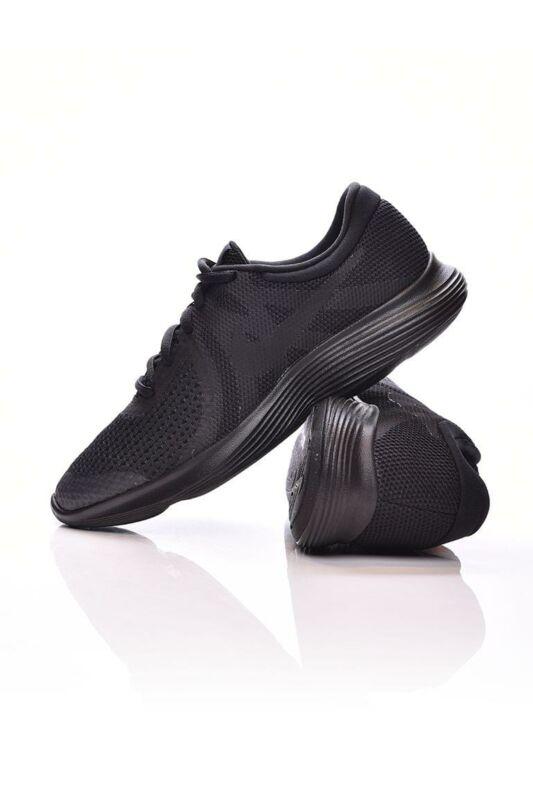 Nike Kamasz fiú Futó cipő, Fekete Revolution 4 (GS), 943309_____0004