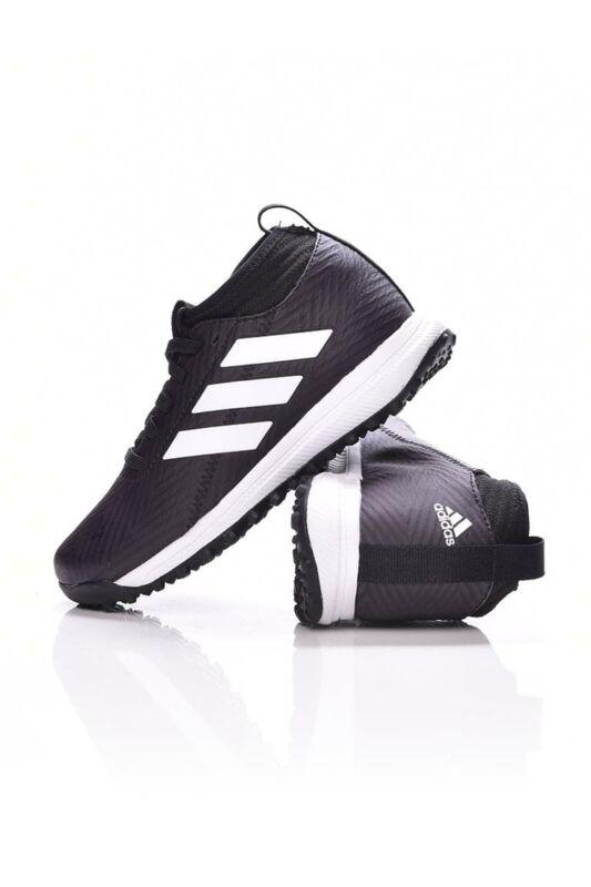 Adidas PERFORMANCE Kamasz fiú Utcai cipő, Fekete RapidaTurf Street K, AH2410