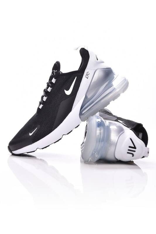 Nike Unisex Utcai cipő, fekete Air Max 270, AH6789_____0013