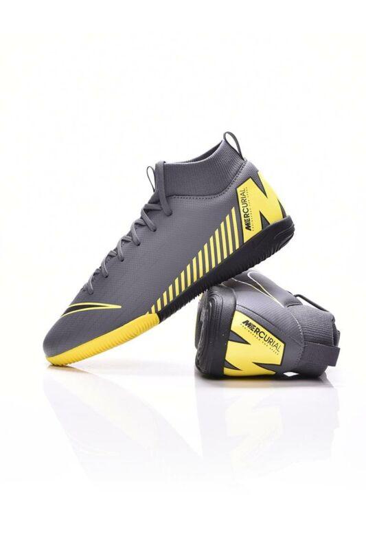 Nike Kamasz fiú Foci cipő, Szürke JR SUPERFLY 6 ACADEMY GS IC, AH7343_____0070