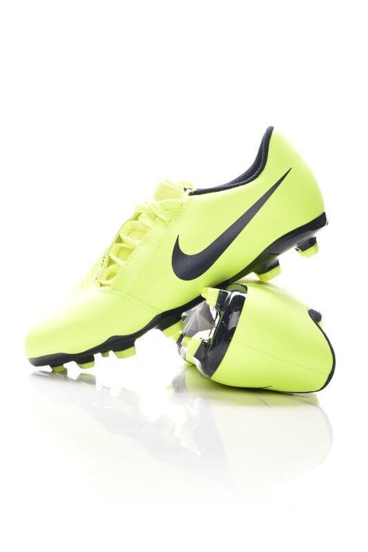 Nike Kamasz fiú Foci cipő, Zöld JR PHANTOM VENOM CLUB FG, AO0396_____0717