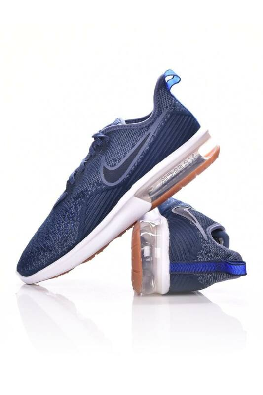 Nike Férfi Futó cipő, kék Air Max Sequent 4, AO4485_____0400