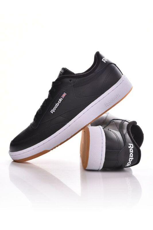 Reebok Férfi Utcai cipő, Fekete CLUBC85, AR0458