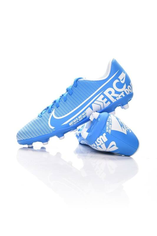 Nike Kamasz fiú Foci cipő, Kék JR VAPOR 13 CLUB FG/MG, AT8161_____0414