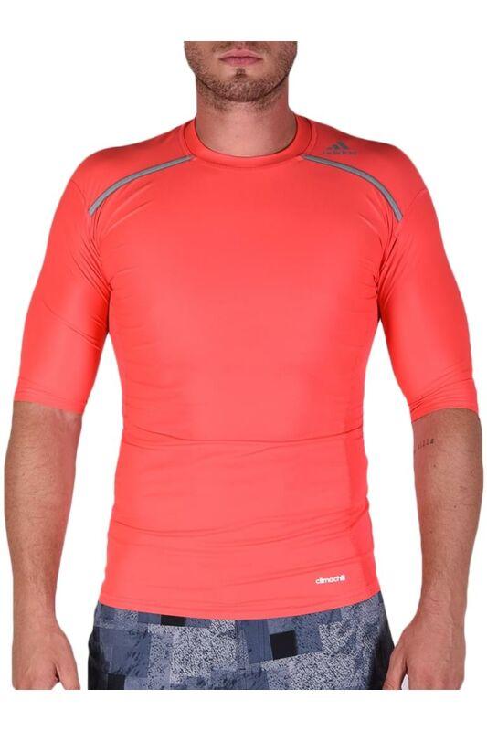 Adidas PERFORMANCE Férfi RUNNING T SHIRT, Piros TF CHILL SS         SHORED, AY3673