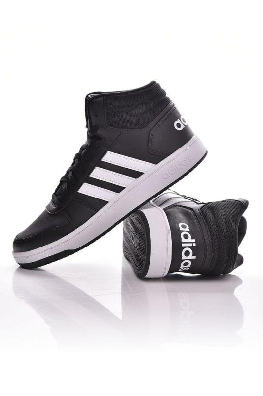 Adidas ORIGINALS Férfi Utcai cipő, Fekete HOOPS 2.0 MID, BB7207