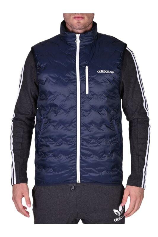 Adidas ORIGINALS Férfi Mellény, Kék SERRATED VEST, BR4779