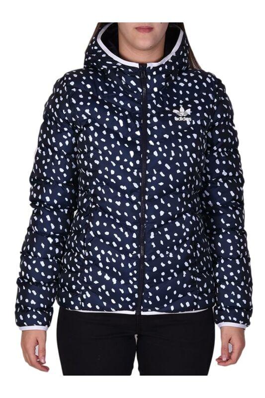 Adidas ORIGINALS Női Utcai kabát, Fekete SLIM JACKET AOP, BS5018