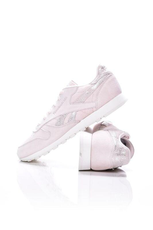 Reebok Női Utcai cipő, rózsaszín CL LTHR SHIMMER, BS9865