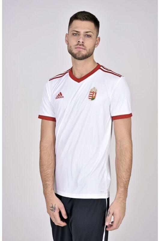 Adidas PERFORMANCE Férfi Focimez, Fehér Magyarország szurkolói Idegenbeli mez, CE1717FEH