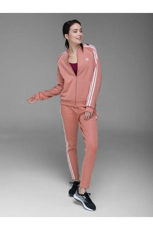 Adidas ORIGINALS Női Végigzippes pulóver, Rózsaszín SST TT, CE2398