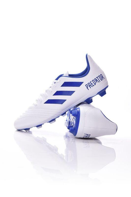 Adidas PERFORMANCE Kamasz fiú Foci cipő, Fehér PREDATOR 19.4 FxG J, CM8542