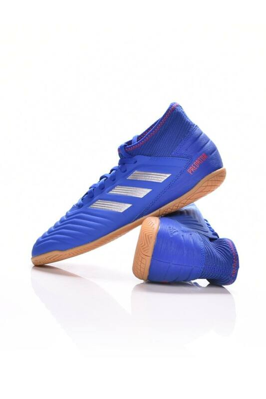 Adidas PERFORMANCE Kamasz fiú Foci cipő, Kék PREDATOR 19.3 IN J, CM8543