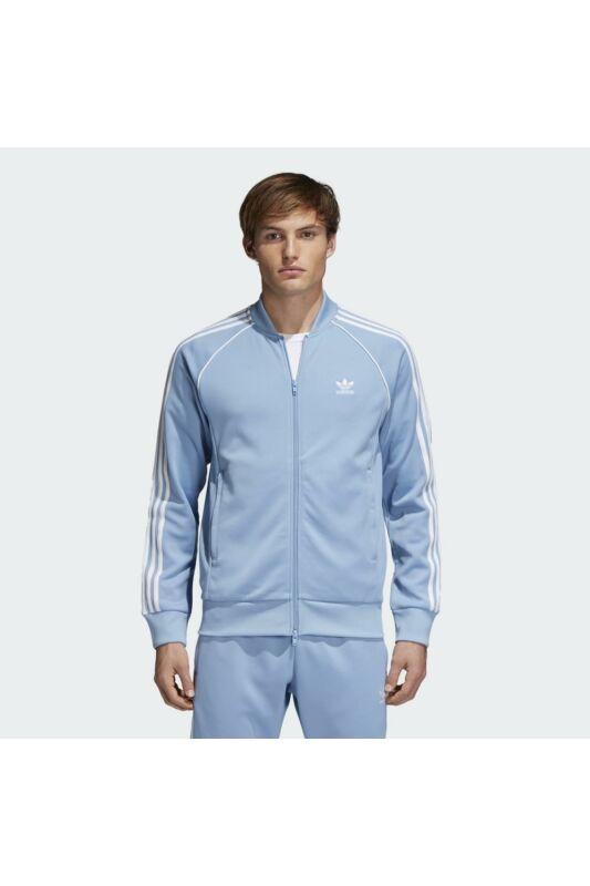 Adidas ORIGINALS Férfi Végigzippes pulóver, Kék SST TT, CW1258