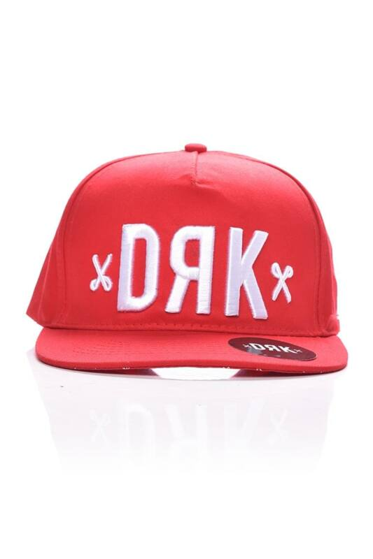 Dorko Unisex Baseball sapka, Piros FIERY SNAPBACK, DA1902_____0600