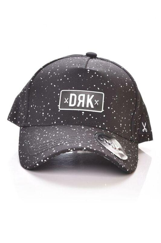 Dorko Unisex Baseball sapka, Fekete ALL OVER PRINTED BASEBALL CAP, DA2011_____0001