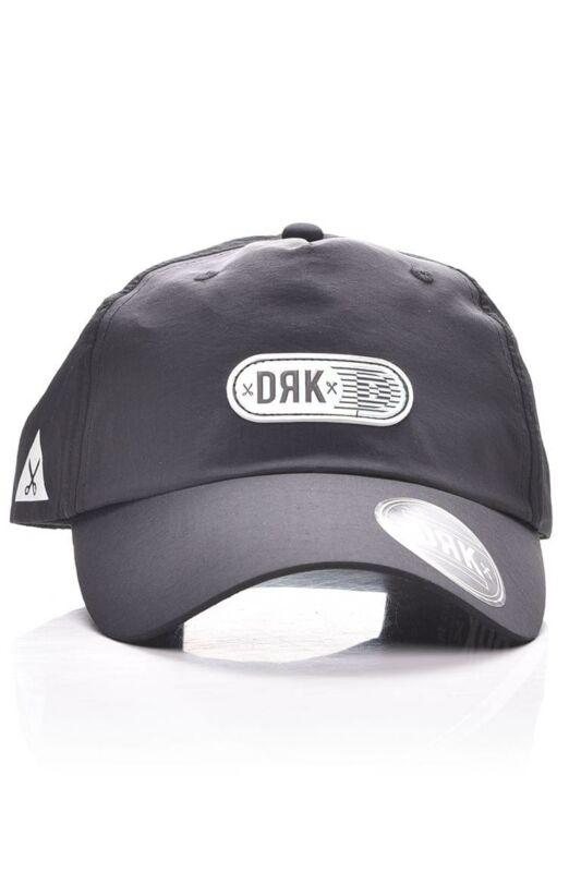 Dorko Unisex Baseball sapka, Fekete SOFT ADJUSTABLE BASEBALL CAP, DA2013_____0001
