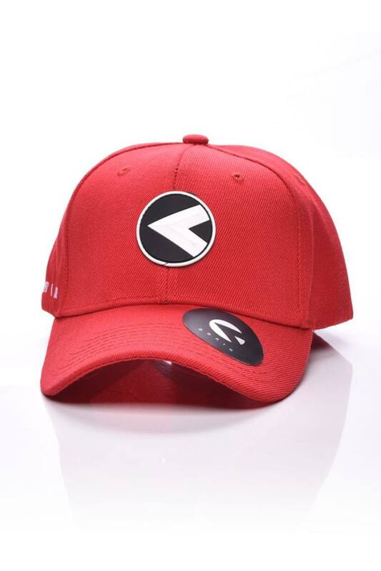 Dorko Unisex Baseball sapka, Piros Dorko logo baseball cap, DAY1812____0600