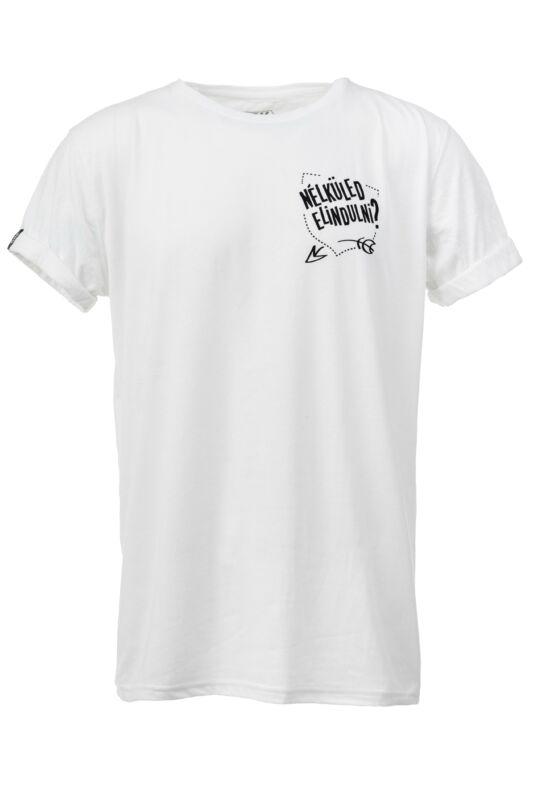 Dorko Férfi Rövid ujjú T Shirt, Fehér DRK x HALOTT PÉNZ T-SHIRT MEN, DHPUJPARM__0100