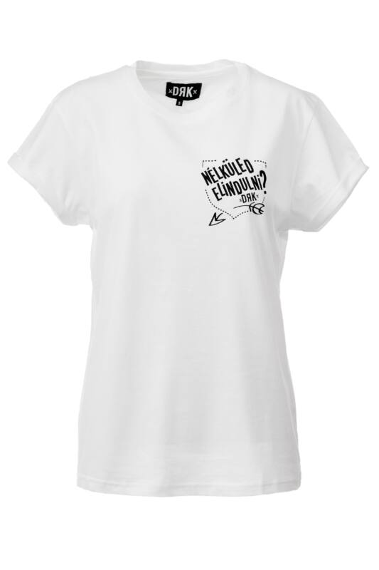 Dorko Női Rövid ujjú T Shirt, Fehér DRK x HALOTT PÉNZ T-SHIRT WOMEN, DHPUJPARW__0100