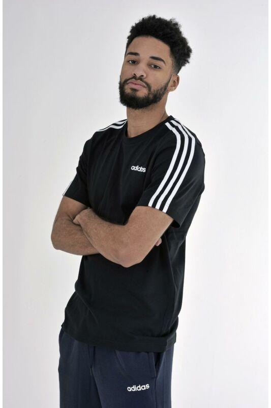 Adidas PERFORMANCE Férfi Rövid ujjú T Shirt, Fekete E 3S TEE, DQ3113