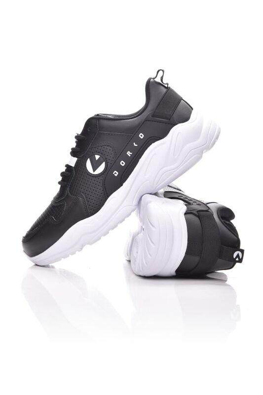 Dorko Unisex Utcai cipő, fekete KICKER, DS1966_____0001