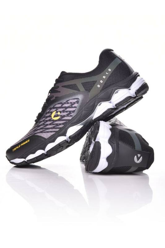 Dorko Férfi Futó cipő, fekete PRO Runner, DS2001_____0001