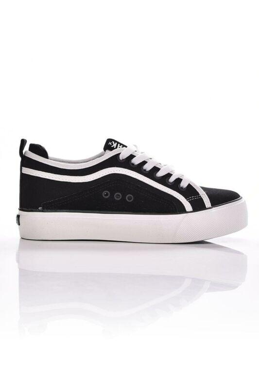 Dorko Női Torna cipő, Fekete 91 low PLATFORM, DS2036_____0001