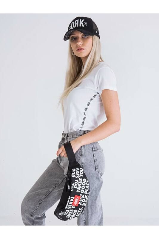 Dorko Női Rövid ujjú T Shirt, Fehér SIDE-STRIPED T-SHIRT WOMEN, DT1926W____0100