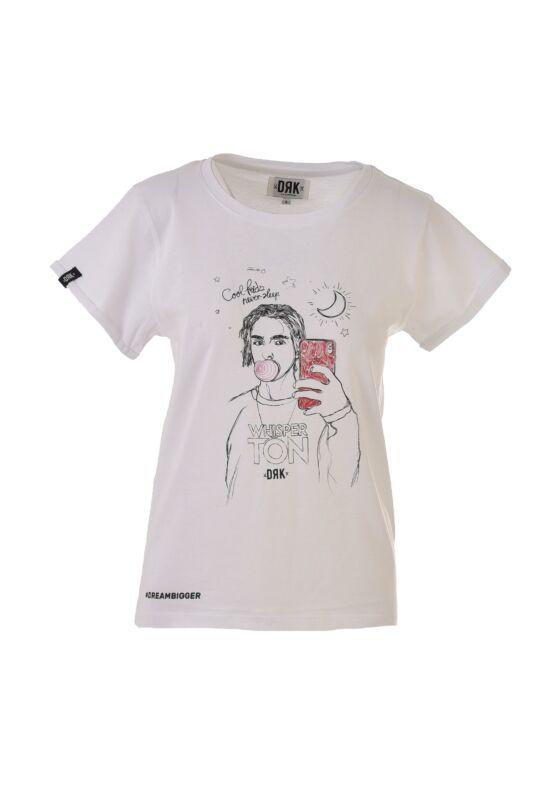 Dorko Női Rövid ujjú T Shirt, Fehér WHISPERTON T-SHIRT WOMEN, DT19WHISW__0100