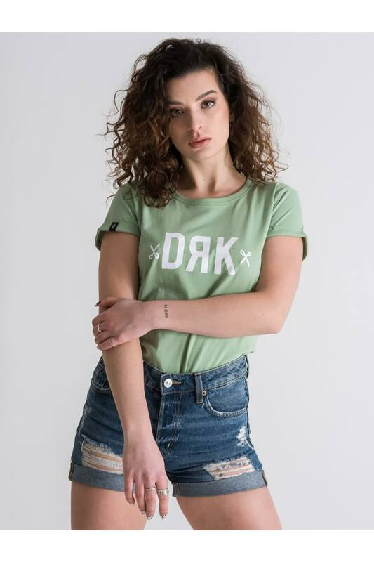 Dorko Női Rövid ujjú T Shirt, Zöld DRK BASIC T-SHIRT, DT2015W____0300