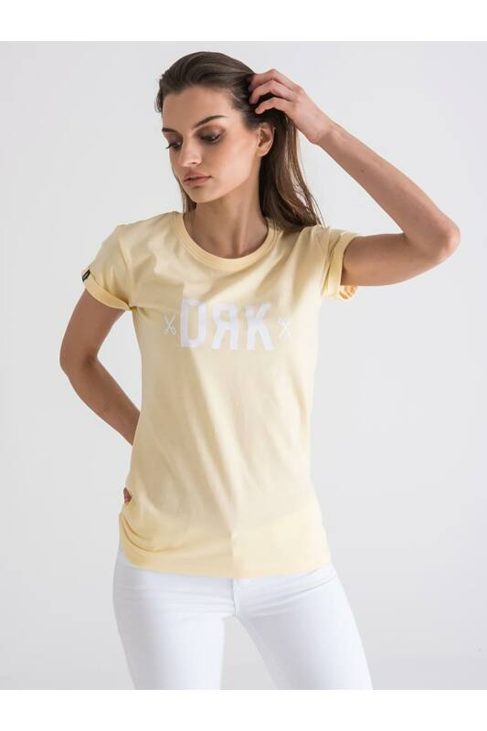 Dorko Női Rövid ujjú T Shirt, Sárga DRK BASIC T-SHIRT, DT2015W____0700